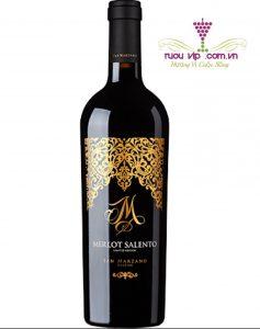 Vang Ý Merlot Salento M Limited