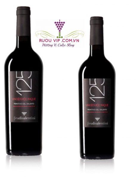 Rượu vang 125 Primitivo