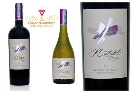 Rượu Vang Notable Reserve Cabernet Sauvignon