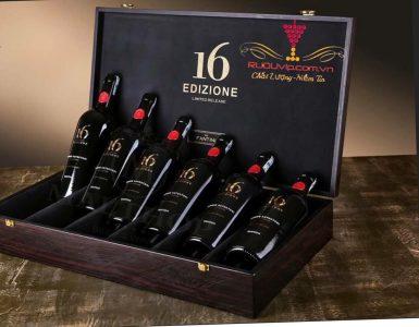 Rượu vang 16 Edizione Limited Fantini