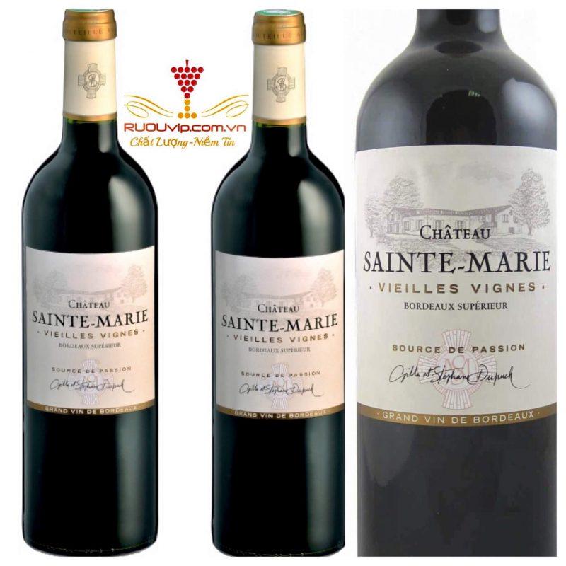 Rượu vang SAINTE MARIE