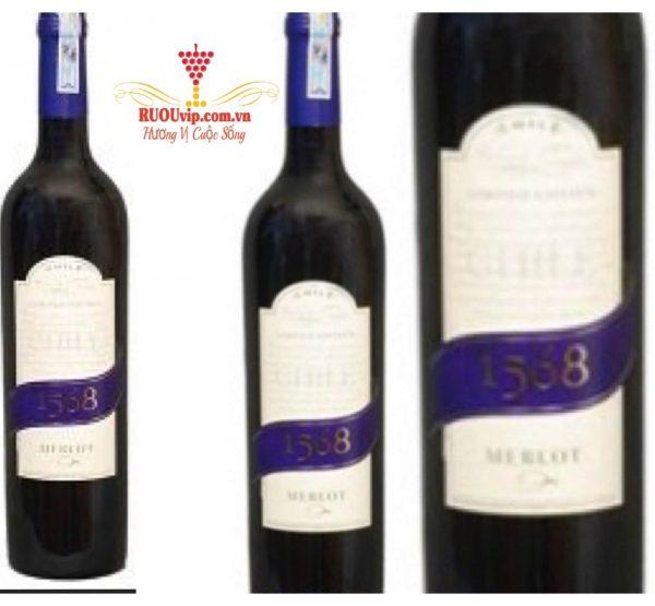 Rượu Vang 1568 merlot