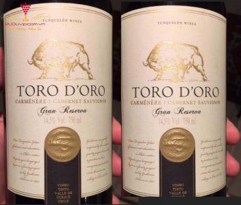 VANG TORO D'ORO GRAND RESERVA CARBETNET SAUVIGNON (1)