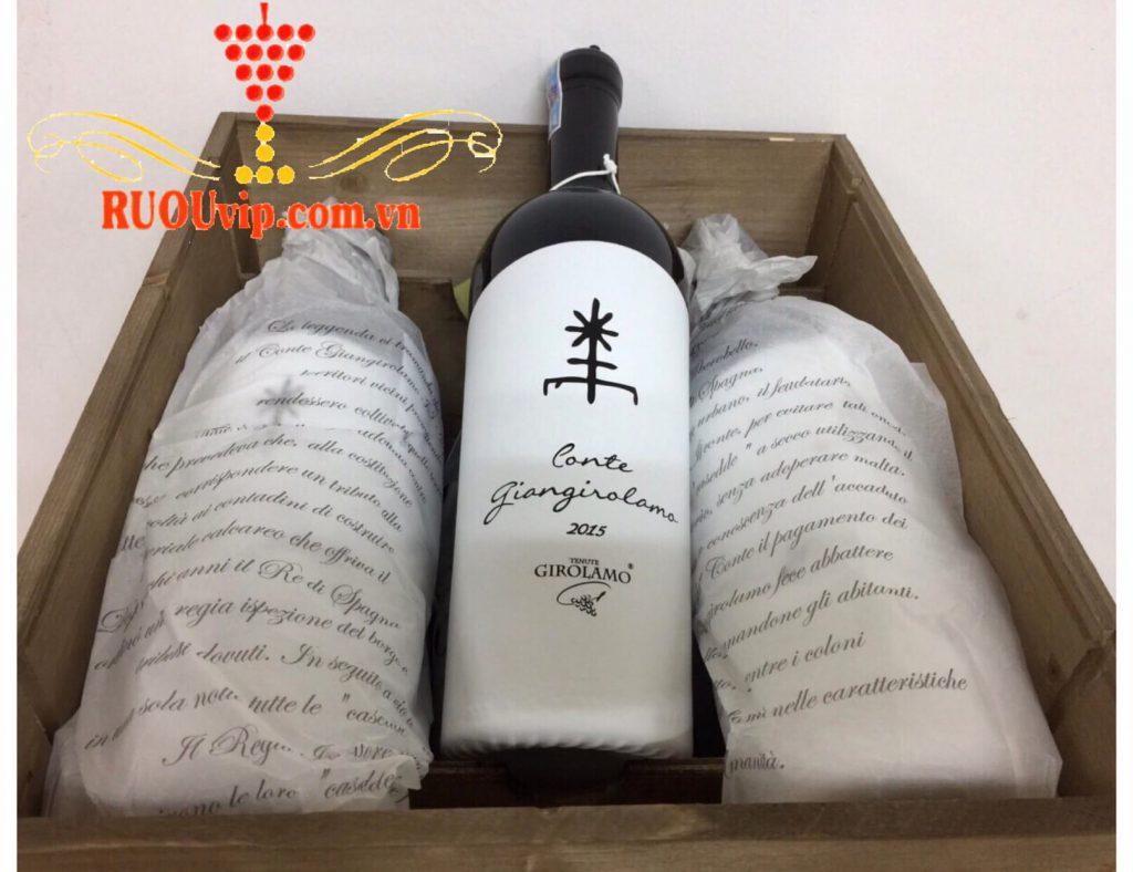 Rượu vang Conte Giangirolamo
