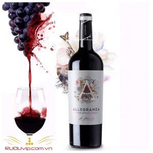 Rượu Vang ALLEGRANZA (2)
