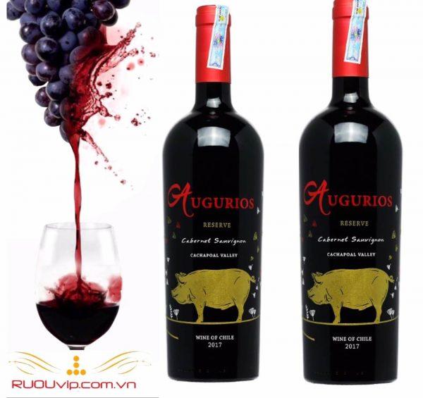 rượu vang augurios reserva cabernet sauvignon