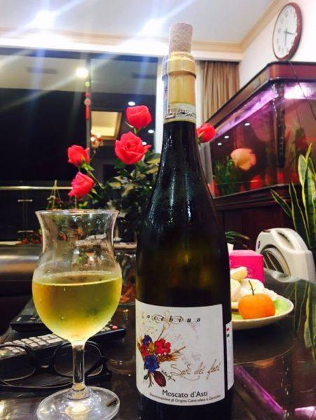 Rượu vang Bocchino Moscato d'Asti