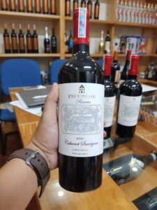 rượu vang picunche reserva cabernet sauvignon