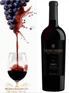 Rượu Vang mỹ Trinchero Forte
