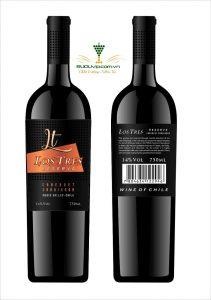 Rượu Vang chile Los Tres