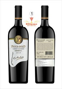 Rượu Vang Picca Gld