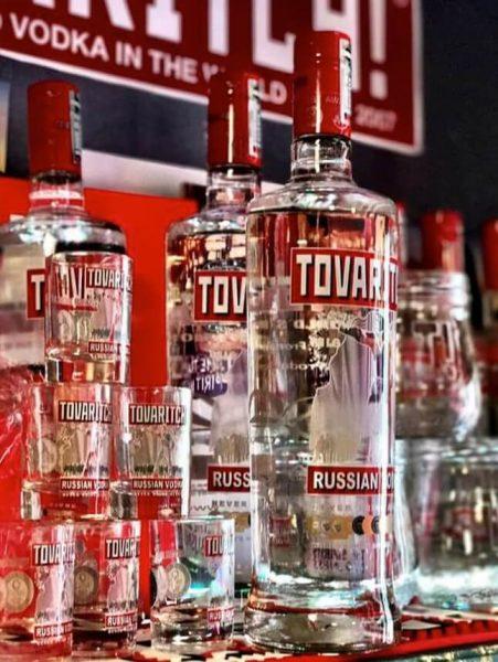 Rượu Vodka Tovaritch