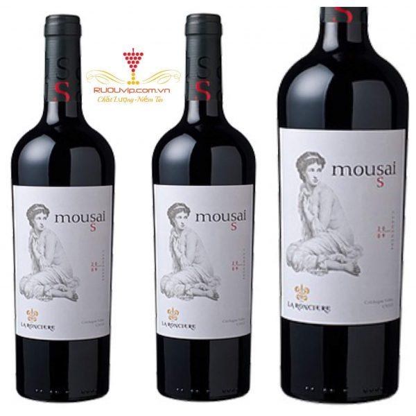 Rượu vang Mousai La Ronciere cô gái