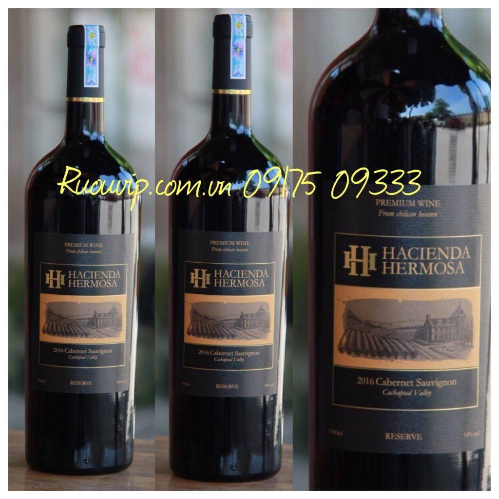 Rượu vang HH hacienda hermosa Cabernet Sauvignon