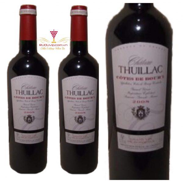 Rượu Vang Chateau Thuillac