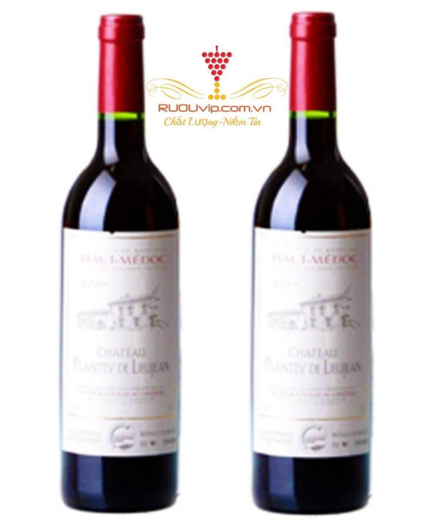 Rượu Vang Pháp PLANTEY DE LIEUJEAN