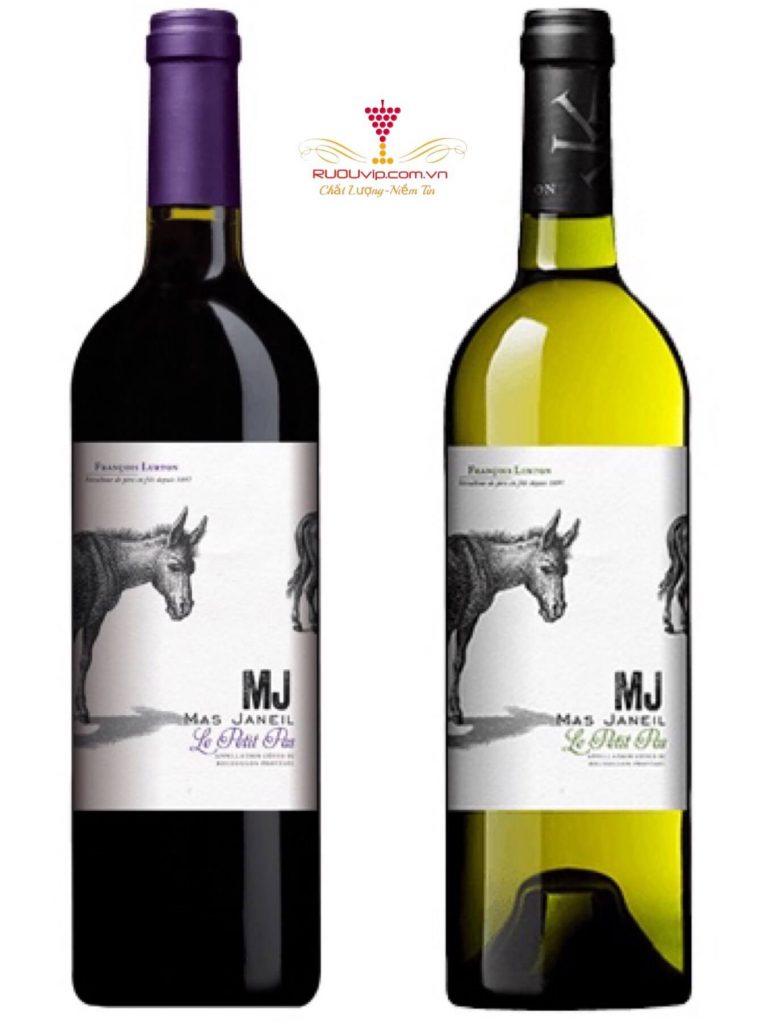 Rượu vang Pháp MJ Petit Pas
