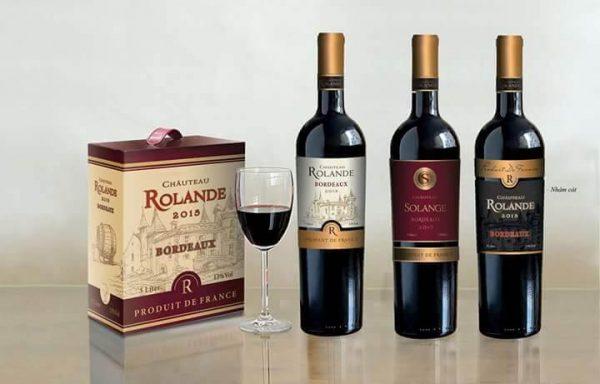 Vang Pháp rolande Bordeaux