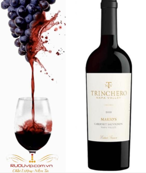 rượu vang Trinchero Mario's Cabernet Sauvignon