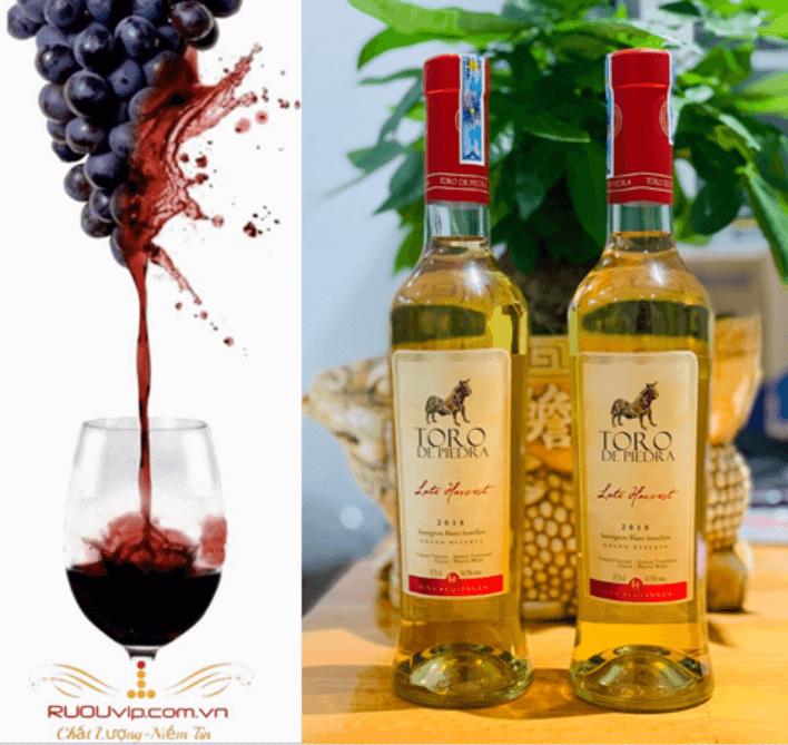 Rượu Vang Toro De Piedra late Harvest